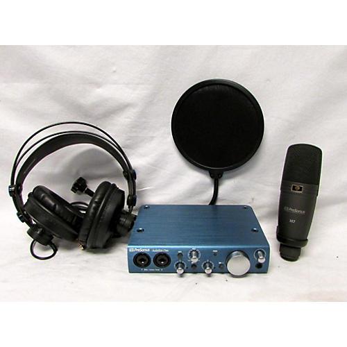 Presonus Ab Itwo Studio Bundle - Audiobox Itwo Interface M7 Mic H7 Headphones Popfilter Audio Interface