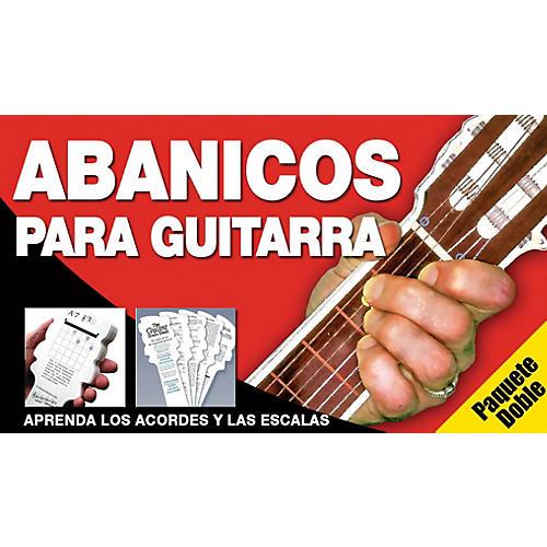 Music Sales Abanicos Para Guitarra - Paquete Doble Music Sales America Series Written by Ed Lozano