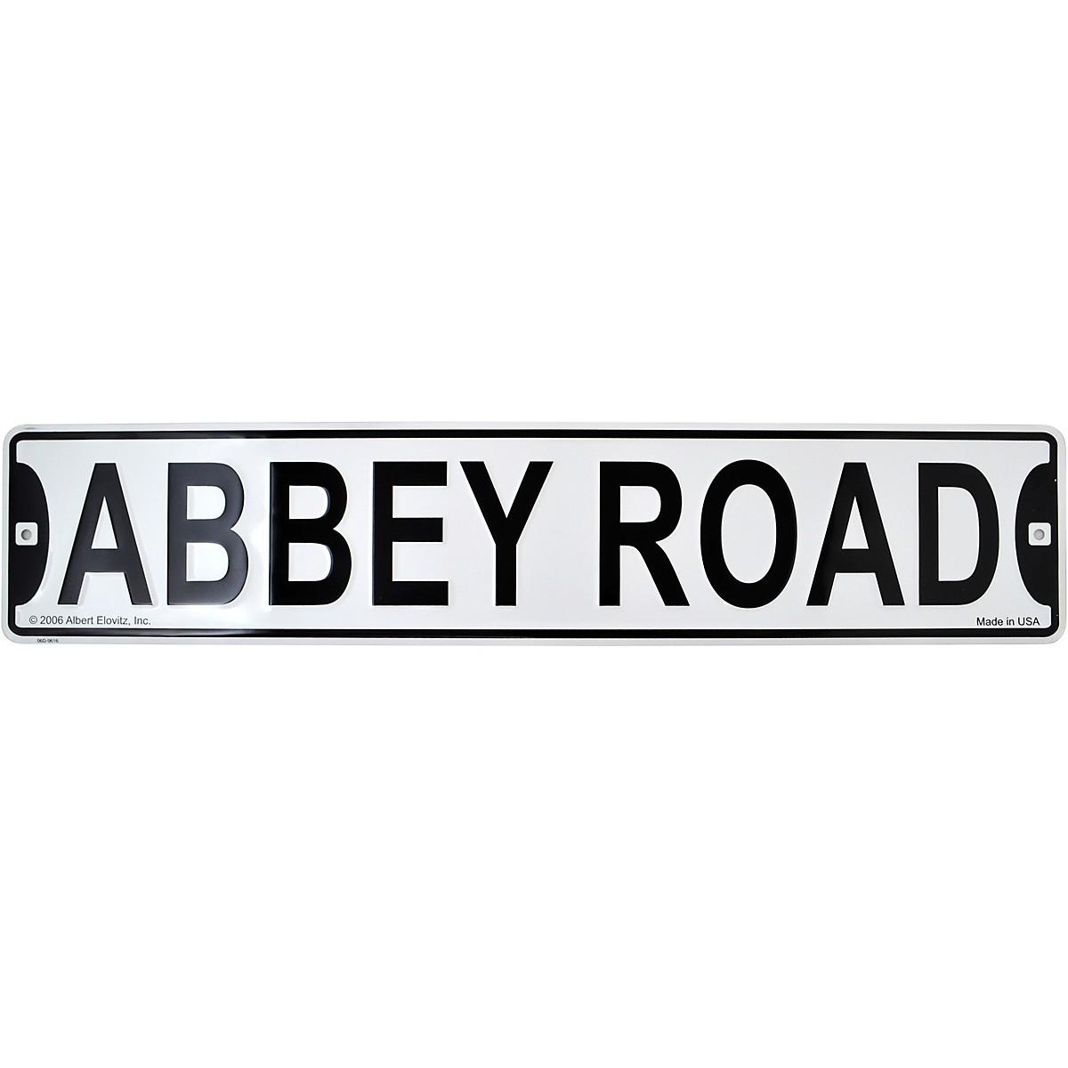 AIM Abbey Road Acrylic Street Sign Magnet