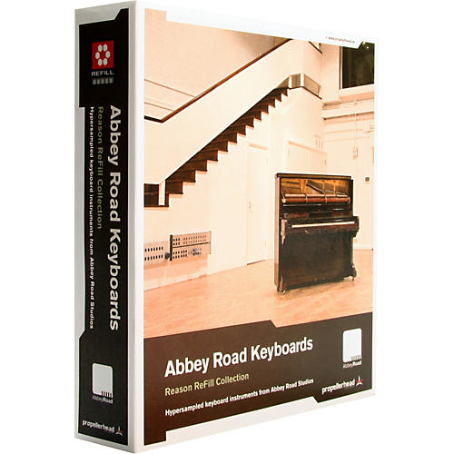 Propellerhead Abbey Road Keyboards Reason ReFill Collection