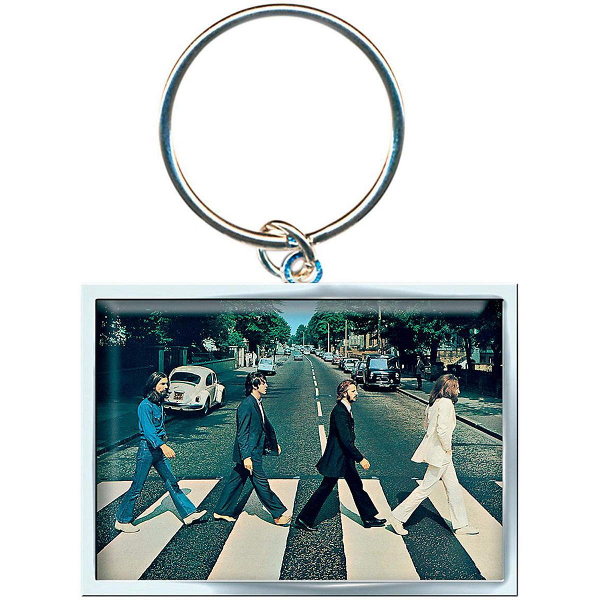 ROCK OFF Abbey Road Keychain