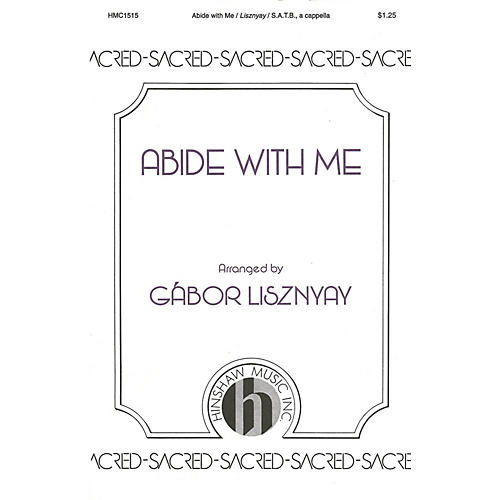Hinshaw Music Abide with Me SATB composed by William H. Monk