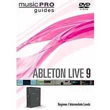 Hal Leonard Ableton Live 9 Beginner/Intermediate Level Music Pro Guide DVD