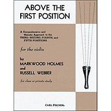 Carl Fischer Above The First Position Book