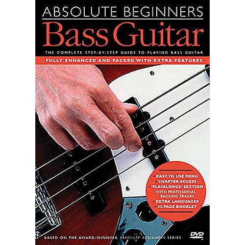 Music Sales Absolute Beginners - Bass Guitar Music Sales America Series DVD