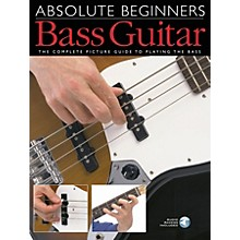 Music Sales Absolute Beginners - Bass Guitar Music Sales America Series Softcover with CD Written by Various