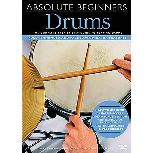 Music Sales Absolute Beginners - Drums Music Sales America Series DVD