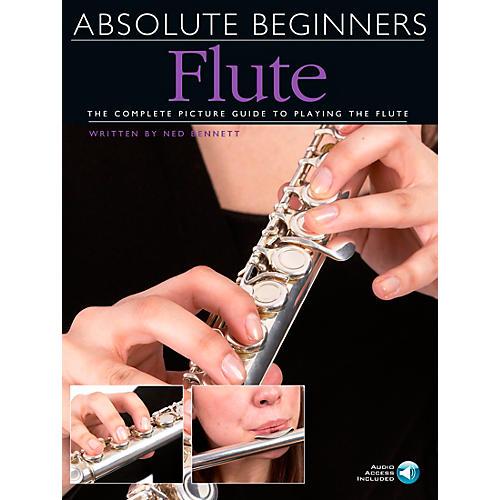 Music Sales Absolute Beginners - Flute Book/CD