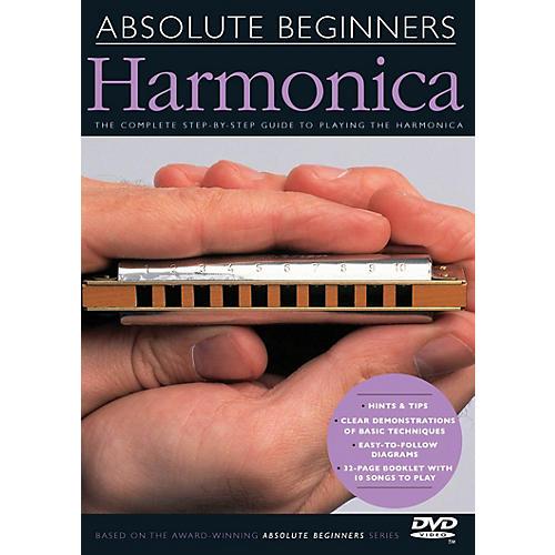 Music Sales Absolute Beginners - Harmonica Music Sales America Series DVD
