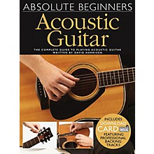 Wise Publications Absolute Beginners Acoustic Guitar Music Sales America Series Softcover Audio Online by David Harrison