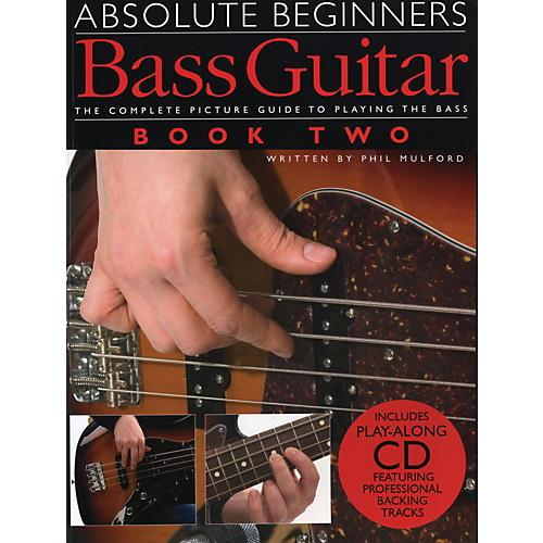 Music Sales Absolute Beginner's Bass Volume 2 (Book/CD)