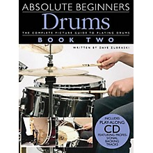 Music Sales Absolute Beginners: Drums - Book 2 Music Sales America Series Softcover with CD Written by Various