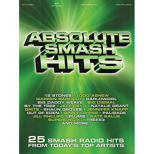 Hal Leonard Absolute Smash Hits Piano, Vocal, Guitar Songbook