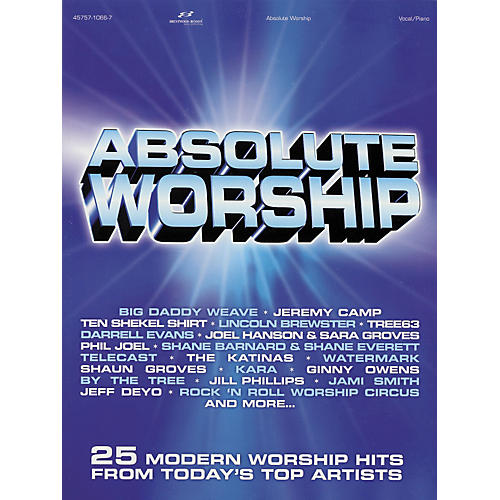 Hal Leonard Absolute Worship Songbook for Piano, Vocal, Guitar Songbook