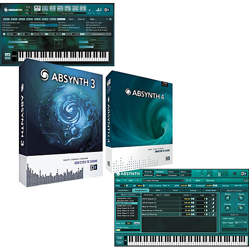 Native Instruments Absynth  4 Virtual Synthesizer Upgrade Package