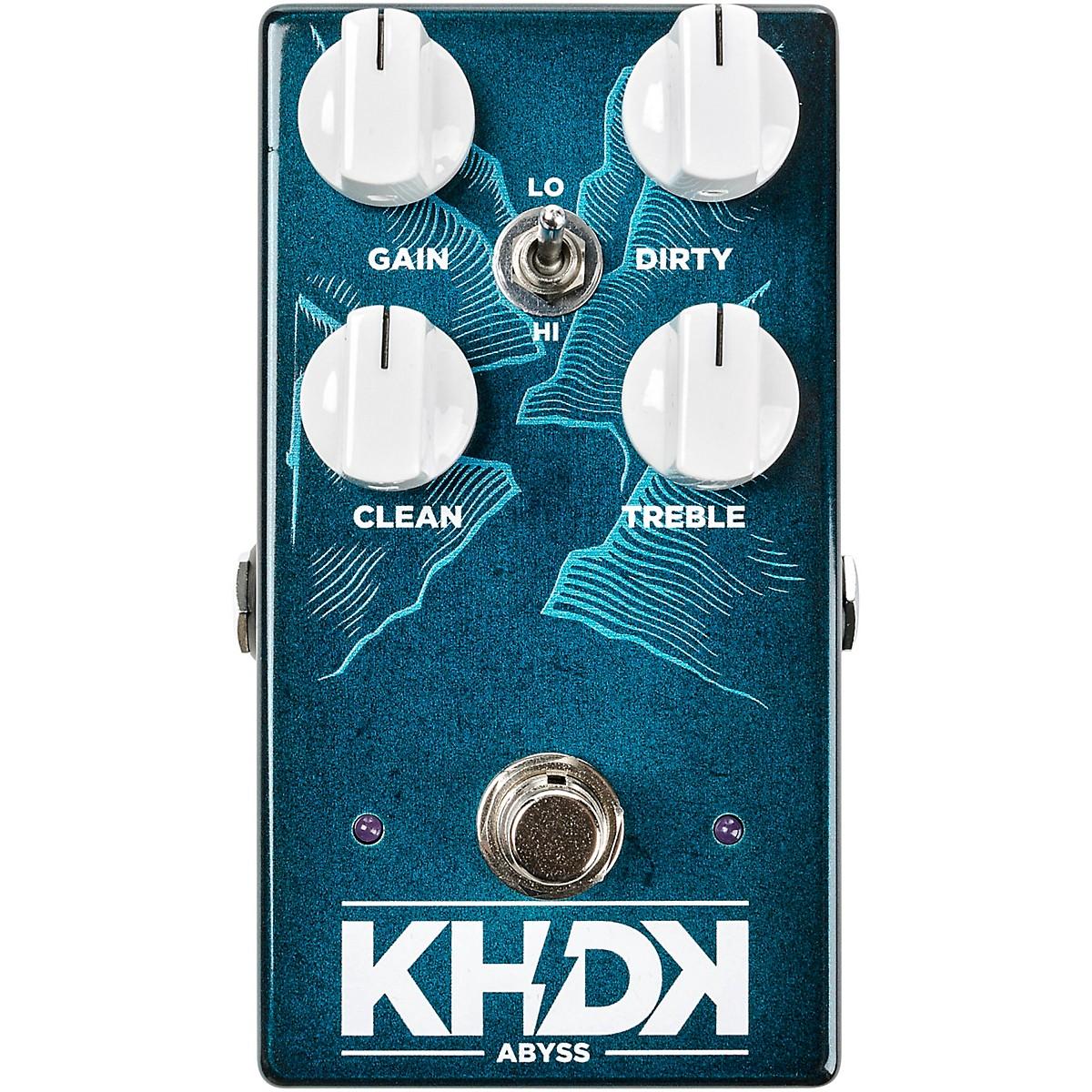 KHDK Abyss Bass Overdrive Effects Pedal