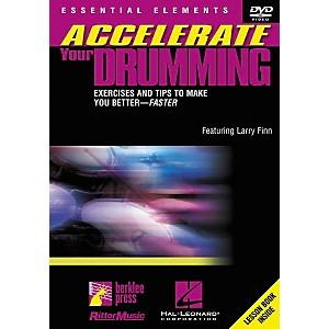 Berklee Press Accelerate Your Drumming DVD by Berklee Press