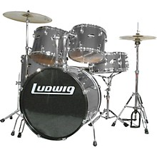 Accent Combo 5-piece Drum Set Silver