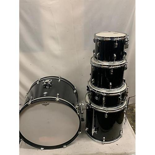 used ludwig accent drum kit black guitar center. Black Bedroom Furniture Sets. Home Design Ideas