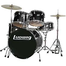Accent Series Complete Drum Set Black
