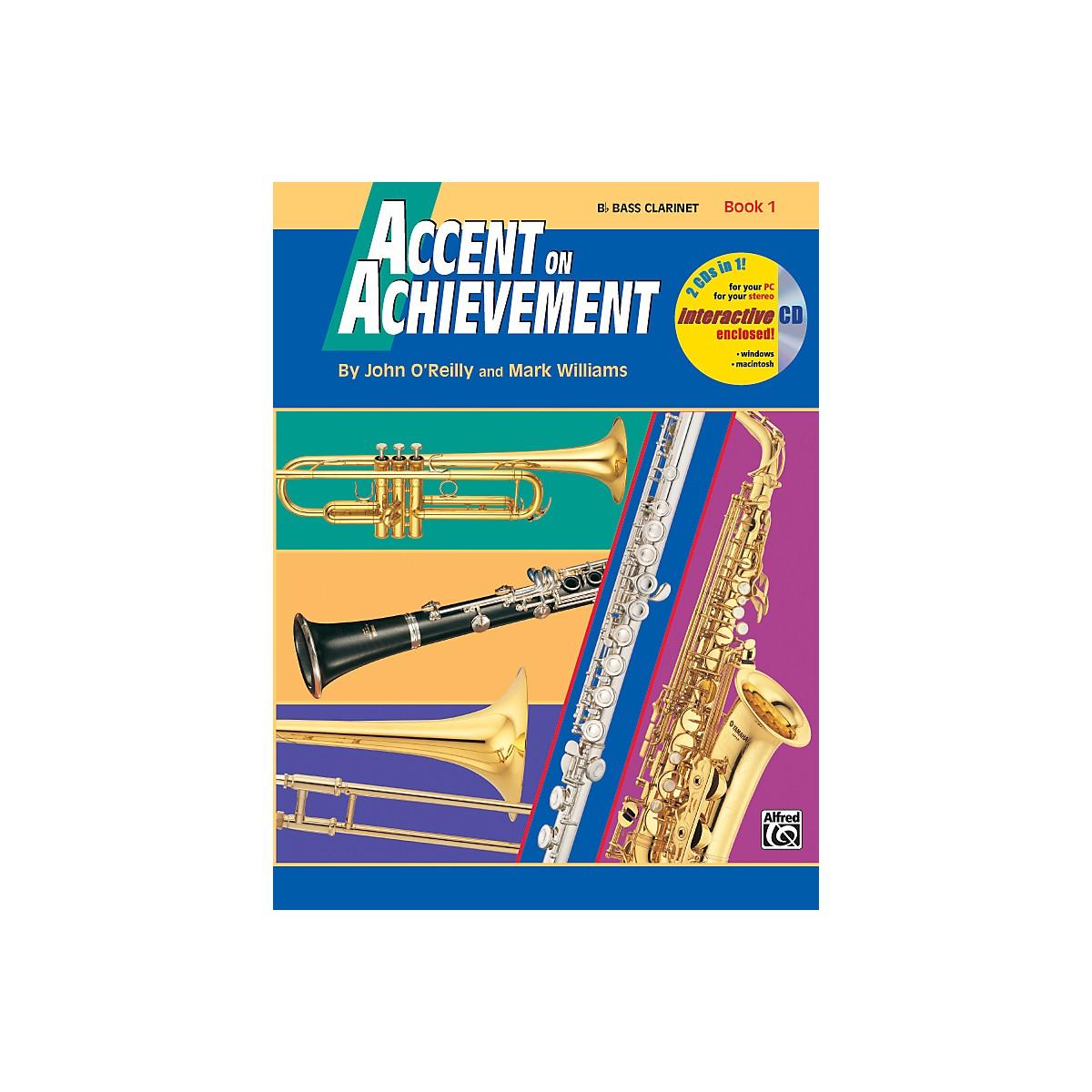 Alfred Accent on Achievement Book 1 B-Flat Bass Clarinet Book & CD