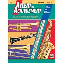 Alfred Accent on Achievement Book 3 Baritone B.C.