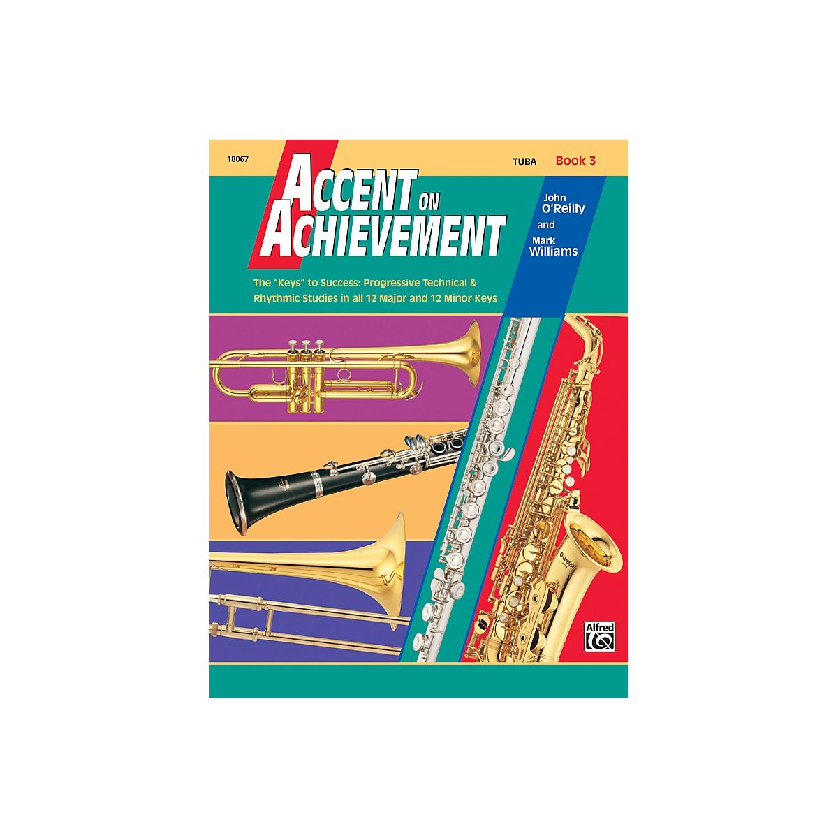Alfred Accent on Achievement Book 3 Tuba