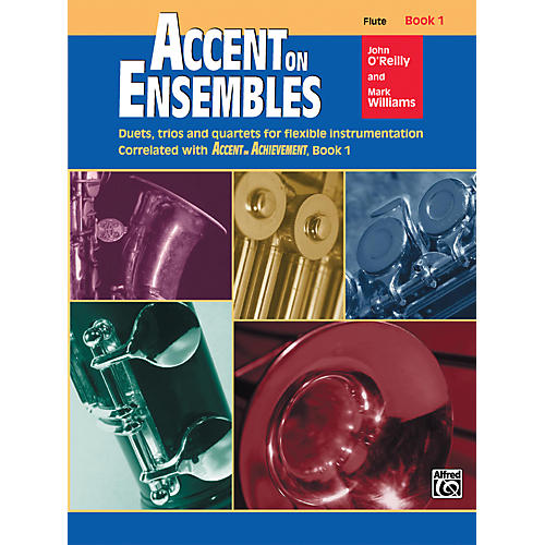 Alfred Accent on Ensembles Book 1 Flute