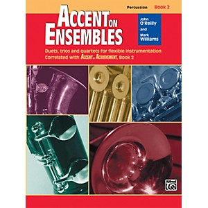 Click here to buy Alfred Accent on Ensembles Book 2 Percussion by Alfred.