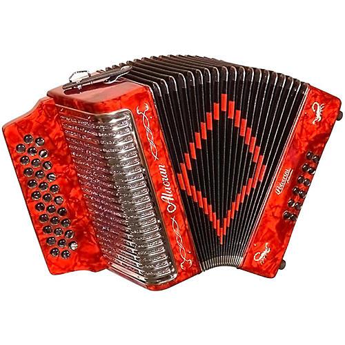 Alacran Accordion AL3112 Red with Case