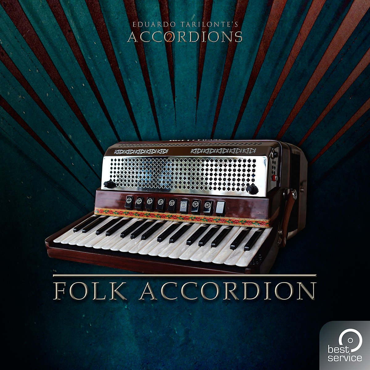 Best Service Accordions 2 - Single Folk Accordion