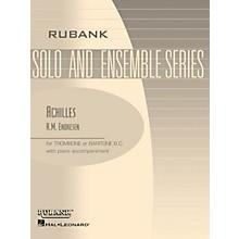 Rubank Publications Achilles (Trombone (Baritone B.C.) Solo with Piano - Grade 4) Rubank Solo/Ensemble Sheet Series
