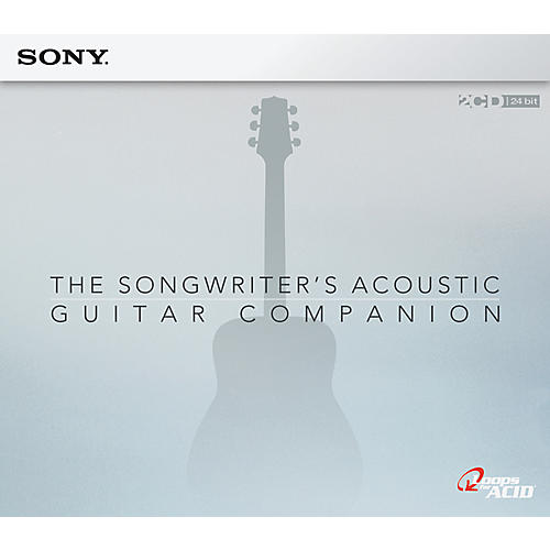Sony Acid Loop The Songwriter's Acoustic Guitar Companion