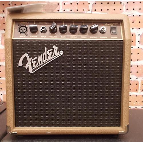 Fender Acoustasonic 15 Acoustic Guitar Combo Amp
