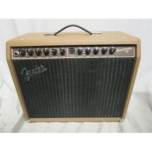 used fender acoustasonic 90 90w acoustic guitar combo amp guitar center. Black Bedroom Furniture Sets. Home Design Ideas
