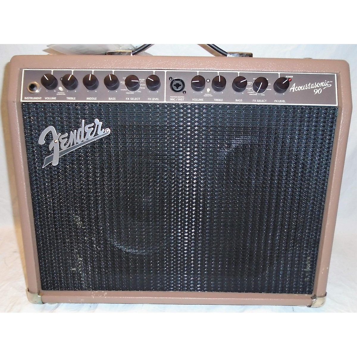 Fender Acoustasonic 90 90W Acoustic Guitar Combo Amp