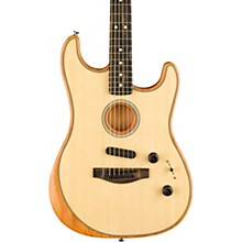Acoustasonic Stratocaster Acoustic-Electric Guitar Natural