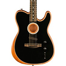 Acoustasonic Telecaster Acoustic-Electric Guitar Black