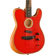 Acoustasonic Telecaster Acoustic-Electric Guitar Dakota Red