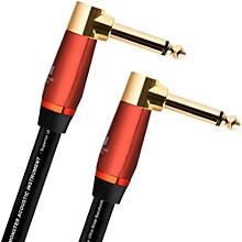 "Monster Cable Acoustic 1/4"" Dual Angled Instrument Cable"