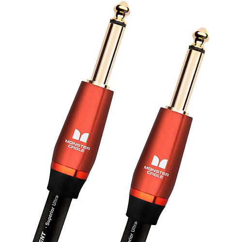 Monster Cable Acoustic 1/4 Inch Straight to Straight Instrument Cable