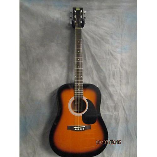 Rogue Acoustic 2 Color Sunburst Acoustic Guitar