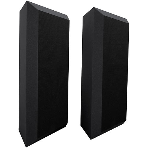 Ultimate Acoustics Acoustic Bass Trap with Vinyl Coating - Bevel (2 Pack)