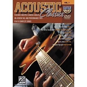 Hal Leonard Acoustic Classics - Guitar Play-Along Volume 7 DVD by Hal Leonard