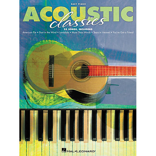 Hal Leonard Acoustic Classics For Easy Piano