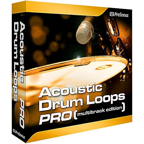 Presonus Acoustic Drum Loops Pro - Multi-track Software Download