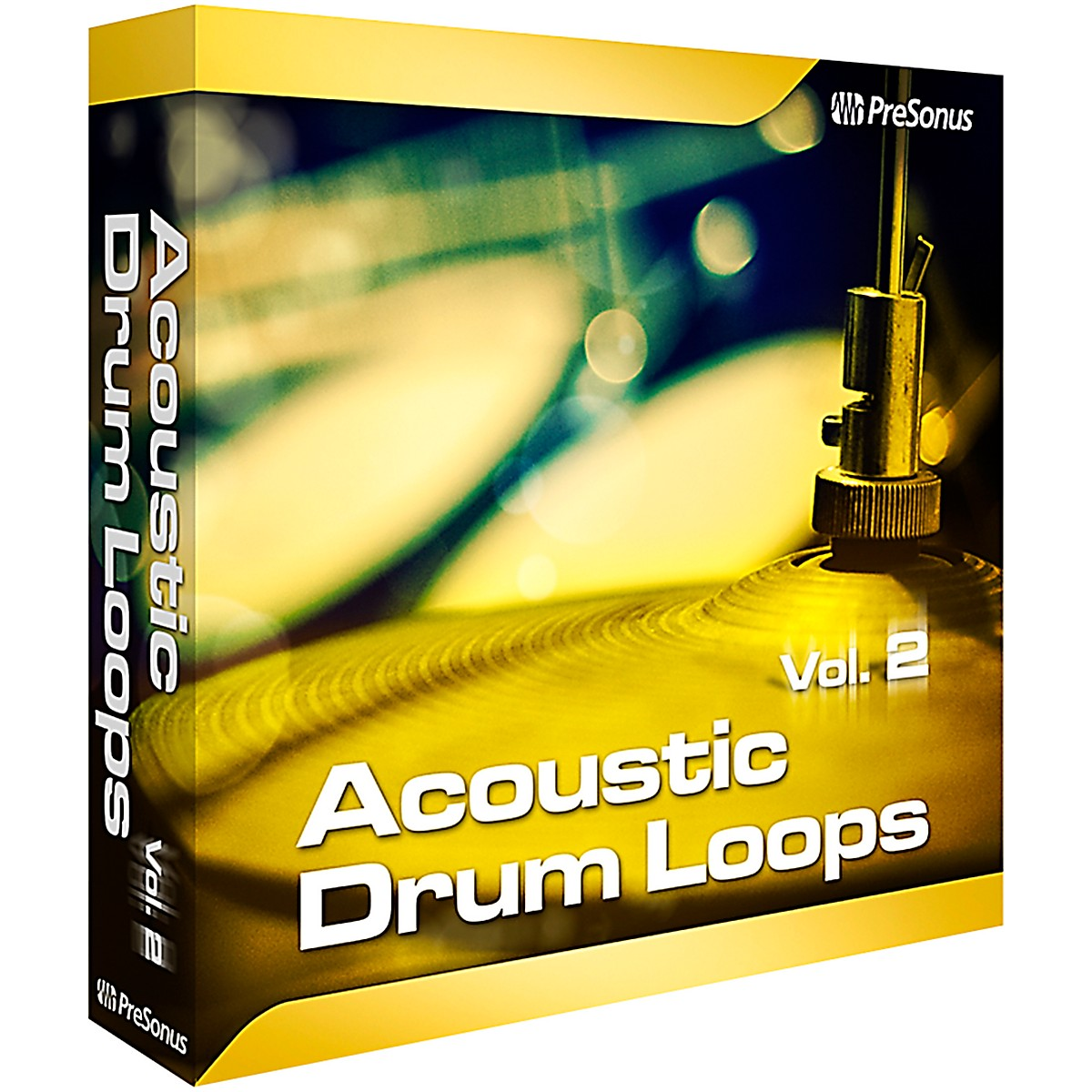 PreSonus Acoustic Drum Loops Vol. 2 - Stereo Software Download