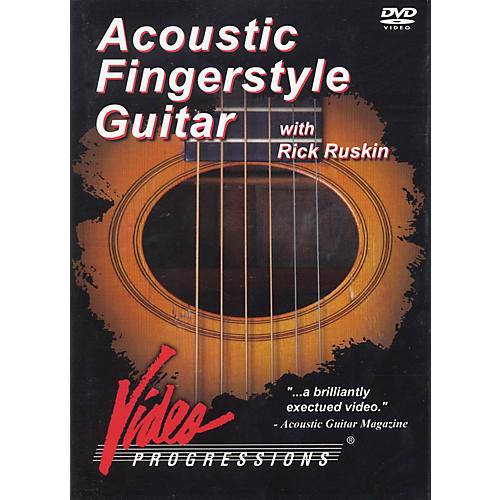 Hudson Music Acoustic Fingerstyle Guitar with Rick Ruskin DVD