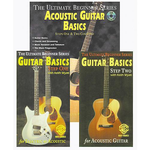 Alfred Acoustic Guitar Basics Mega Pak Video/Book/CD