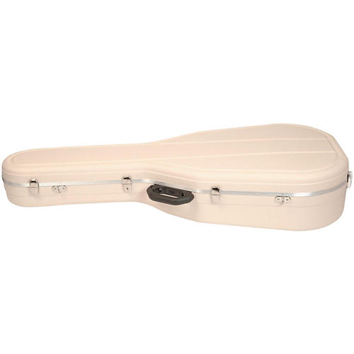 Hiscox Cases Acoustic Guitar Case/Jumbo Ivory Shell/Silver Int-Pro II